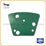 Les segments de l'outil de diamant de meulage double plaque de plancher de béton d'une meuleuse