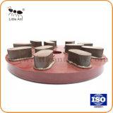 Cautionnement de résine de couleur rouge de polissage disque de polissage de la plaque de marbre granit dur //