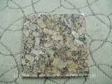 Azulejo de /Wall de la encimera del granito del oro del azulejo del granito del Brasil Giallo Fiorito