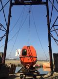 Liberar el bote salvavidas libre de la caída de la caída GRP con el pescante
