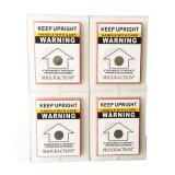 Verpakkend Breekbaar Verschepend Etiket voor verminder het Mishandelen van het Product
