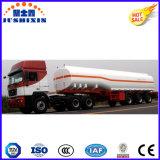 18-65cbm炭素鋼の燃料かオイルまたはガソリンまたはディーゼル半タンカーのトレーラー