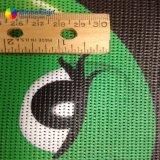 340GSM PVC 비닐 메시 담 기치