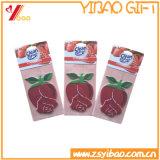 Custom rose Flowershape PAPER air Freshener/Car air Freshener with PAPER Card (YB-CB-115)