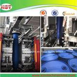 青いプラスチック化学ドラム吹く機械装置か自動ブロー形成機械製造者