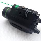 ストロボレーザーとの戦術的なハンチング緑レーザーの視力そして200内腔のクリー族Q5 LEDの軽いコンボ
