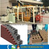 Qt moyen4-18 machine à fabriquer des briques automatique hydraulique complète de l'Éthiopie