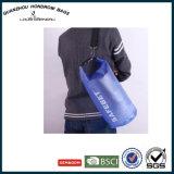 El paño plegable translúcido del bolso de Duffle del PVC lleva el bolso seco Kayaking Sh-17090129 del paquete del océano del canotaje que acampa