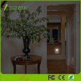 Lohas 0.3W Dämmerung, zum zu dämmern Selbstan/aus-LED Lampe des Fühler-Nachtlicht-groß für Schlafzimmer-Badezimmer-Treppenhäuser