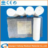 fasciatura medica comoda della garza 100%Cotton per l'emergenza