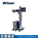 30W arvorando máquina de marcação a laser de fibra de linha para tubos de metal