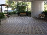 Instalação prática resistentes à água WPC piso em deck Oco