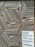 Cuoio esotico del tessuto del sughero naturale del reticolo di disegno per la decorazione dei sacchetti dei pattini (K18-02)