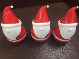 Altavoz Roly-Polivinílico del mini de Bluetooth del altavoz vaso sin hilos de Papá Noel para el regalo de la Navidad