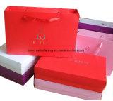 Rectángulo de regalo del &Base de la tapa para la ropa/los bolsos de compras y el rectángulo de regalo de papel para la ropa