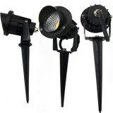 IP65는 정원 조경 보도 LED 잔디밭 빛 LED 투광램프를 방수 처리한다