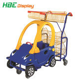 Kind-Spaziergänger-Supermarkt-Kind-kaufenlaufkatze-Karre