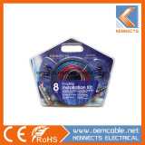 Kl0g/KL4g/KL8g Instllation Amplificador Kit Car Kit Kennects do kit de cablagem