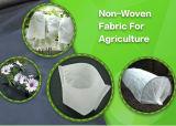 Tela não tecida resistente UV da paisagem dos PP da agricultura da largura do branco 7.2m