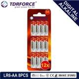 Pile alcaline libre de Digitals de fournisseur de Mercury&Cadmium Chine (LR03-AAA 16PCS)