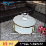 Sofá de Mobiliário doméstico de vidro de mesa mesa de café com boa qualidade