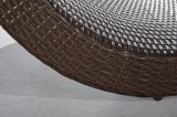 outdoor Rattan and Wicker Bed Patio Lounge