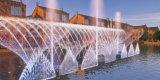 Удивительные высокого давления высоты Танцующий фонтан с плавающей запятой