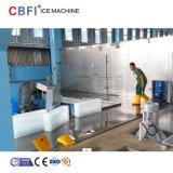 5-30 toneladas Industrial de congelação rápida salmoura Bloquear a máquina de gelo
