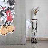 Het schimmeldodende Vrije Mickey Af:drukken van de Schimmel 100% het Gordijn van de Douche van de Polyester