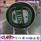 Bester Preis, der LED-Vakuum gebildeten Acrylkreis Lightbox Signage für System-Vorderseite bekanntmacht
