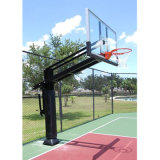 Basketball Training Equipment Tempered Knell Inground Basketball Hoop Adjustable for Dirty
