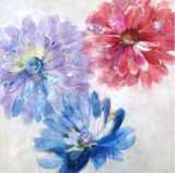 De met de hand gemaakte Decoratie Van uitstekende kwaliteit van het Huis van de Bloemen van het Olieverfschilderij Kleurrijke