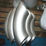 Guarniciones de tubo conectadas de la instalación de tuberías del codo del acero inoxidable