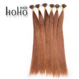 A Virgin cabelos castanho 24 polegadas U Dica Pré colados a extensão de cabelo humano
