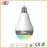 Ampoule sèche populaire 7W de la musique E27 DEL de Bluetooth de contrôle de Wrieless