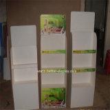 Шкаф половой доски стойки мрамора стеллажа для выставки товаров плиток древесины