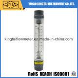 Mètre acrylique en tuyau d'écoulement d'eau de compteur de débit de tube