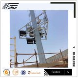 Futao Q345 galvanisierte 15m-30m den hohen Mast Polen