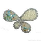 La mode Coiffure Pearl chaîne de perles de l'artisanat Rhinestone Fleur decorative