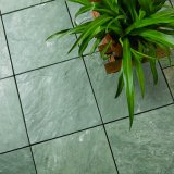 비 새 모델 미끄러짐 맞물리는 내화 벽돌 슬레이트 포석 마루 도와 매트 디자인을%s 정원 공급