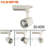 Nuevo alto Lumen Traic 40W de luz LED regulable COB vía