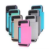 A armadura traseira protetora cobre caixas dos filtros do telefone para o iPhone X
