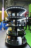 선반 온난한 공정한 판단 LED 관 유연한 빛에 세면용품 쇼