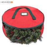 Праздник Рождества венок сумка для хранения 30-дюймовый Венки