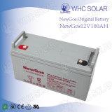 Bateria solar acidificada ao chumbo do ciclo profundo 12V 100ah para o sistema solar