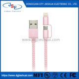 Ifm tressé en nylon haute vitesse et de la foudre micro Câble de charge de synchronisation USB pour iPhone 7 6s 6 Plus/5S, iPad /iPod, Android