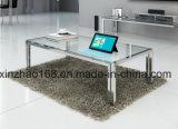 2016最新のデザイン現代ガラスコーヒーテーブル