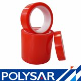 Alternativa a Tesa 4965 Adhesivo acrílico rojo de doble cara cintas de Pet