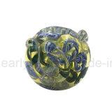 Da colher espiral do vidro de mão da faísca tubulação de vidro (ES-HP-399)