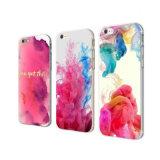 新しく多彩なiPhone6/7/8plusのためのパターンによって印刷されるケース柔らかいTPUの裏表紙